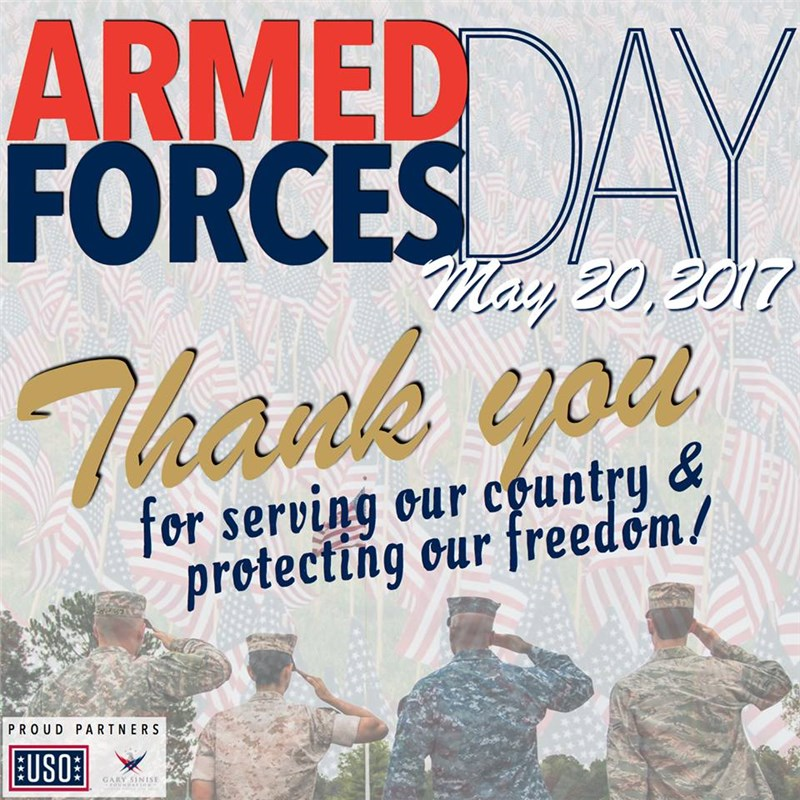 Thanks to Members and Veterans of our Nation's Armed Forces!