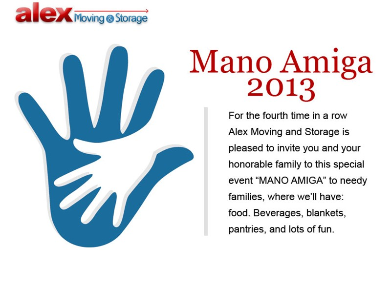 Mano Amiga: An Invitation to All