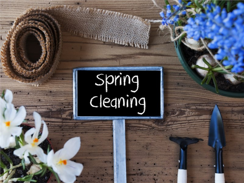 Top Spring Cleaning Tips!