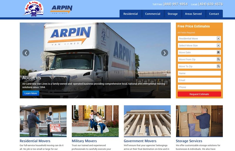 ALS Van Lines Launches New Website to the World!