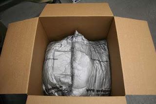 Shipping Tiffany Lampshade - Step 5