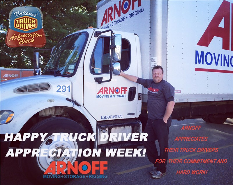 Arnoff Honors Truck Driver Appreciation Week – September 13 – 19, 2015