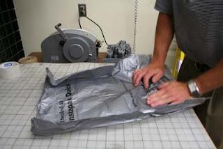 Shipping Tiffany Lampshade - Step 2