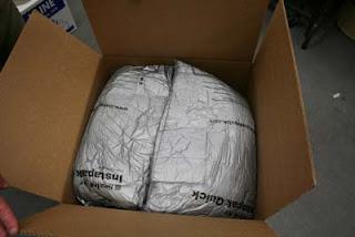 Shipping Tiffany Lampshade - Step 8