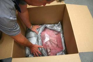 Shipping Tiffany Lampshade - Step 4