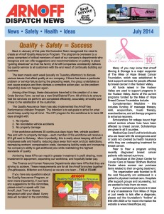 Arnoff's July 2014 Newsletter