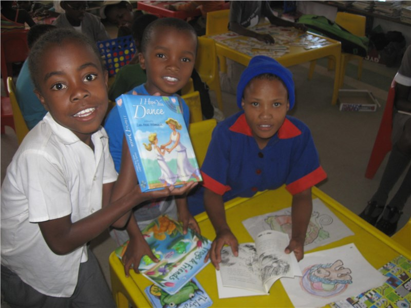 """Kickin' Back"" Charity Campaign to Namibian Children Assisted by Arnoff Moving and Storage"