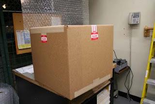 Shipping Tiffany Lampshade - Step 9