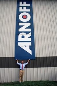 Man Under Arnoff Sign