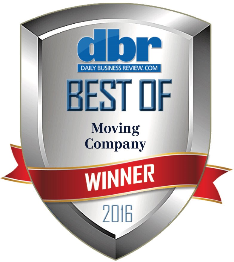 Bekins South Florida Awarded Best Moving Company for 2016
