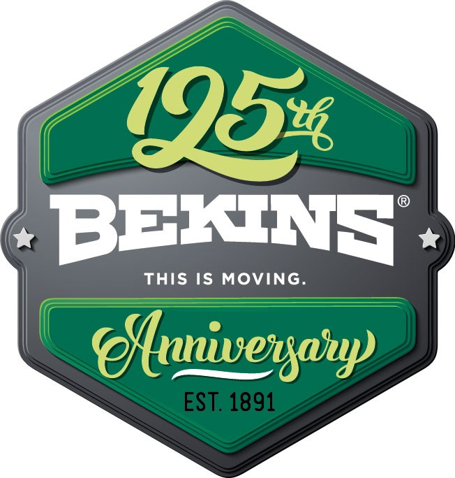 Bekins Van Lines Celebrates its 125th Anniversary