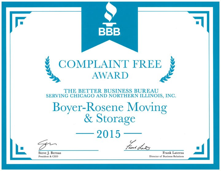 Boyer-Rosene Wins 2015 BBB Award