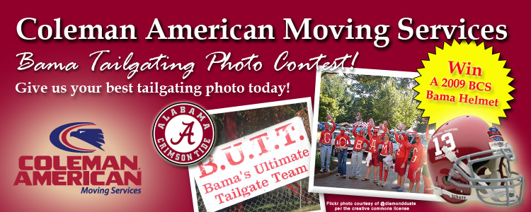 Alabama Tailgating Facebook Photo Contest!