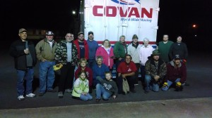 Coleman Allied Delivers Bicycles for Foster Children