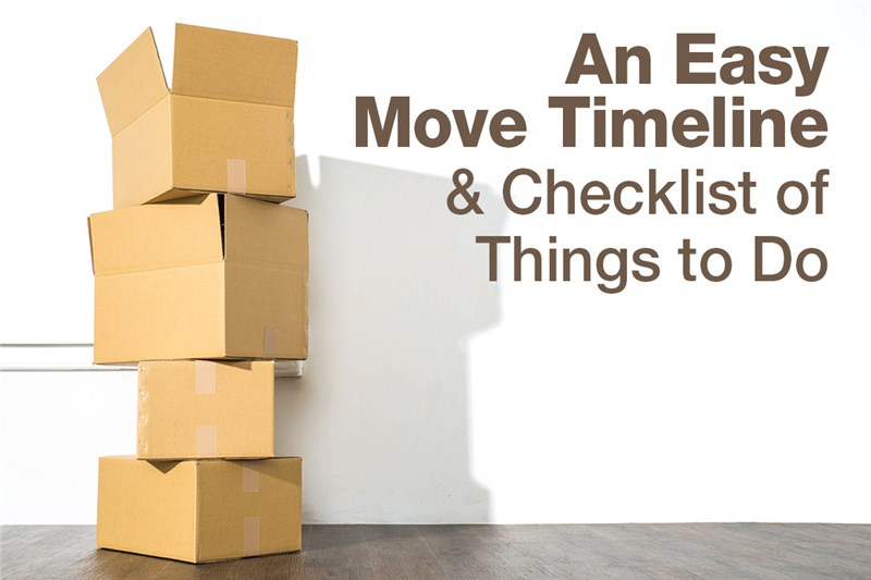 An Easy Move Timeline and Checklist of Things to Do