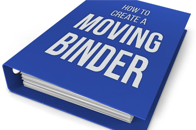 How to Create a Moving Binder