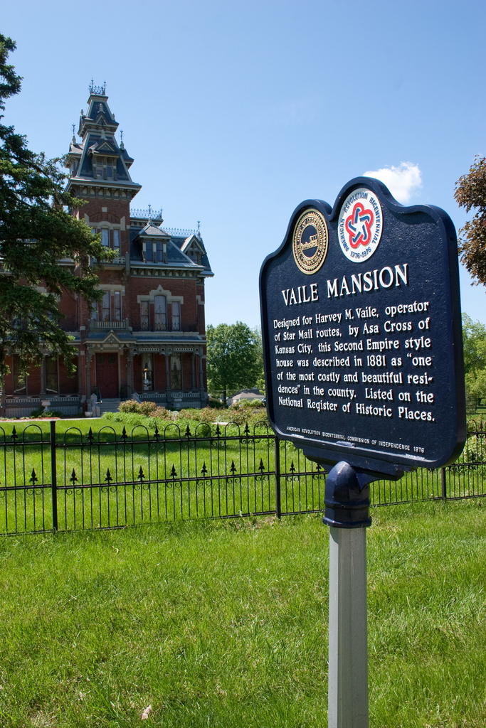 Vaile Mansion, Independence