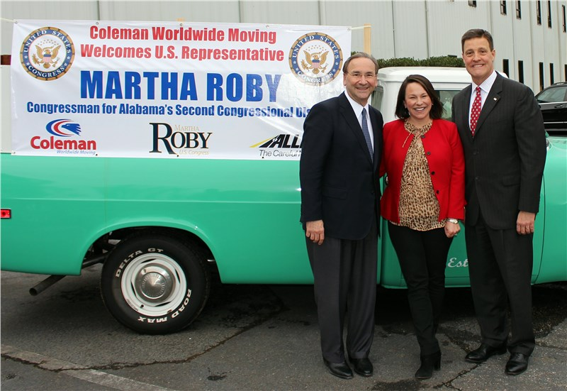 Coleman Worldwide Moving Hosts Business Council of Alabama Endorsement for Congressman Roby