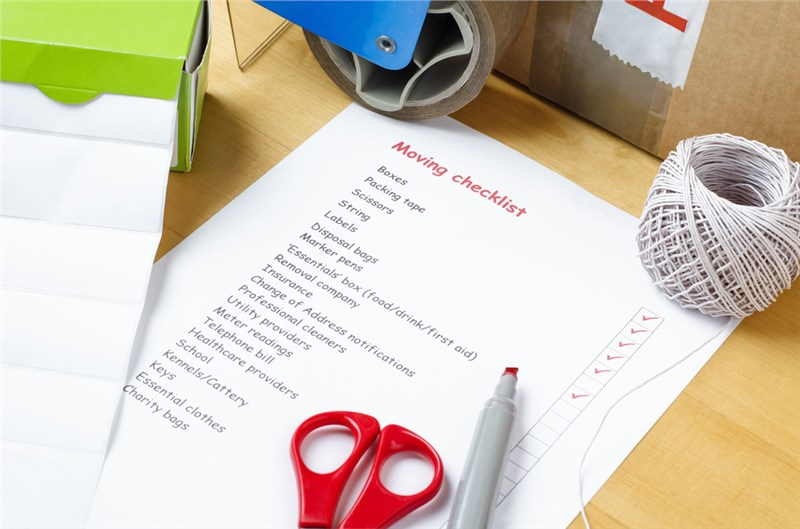 Your Richardson Moving Day Checklist