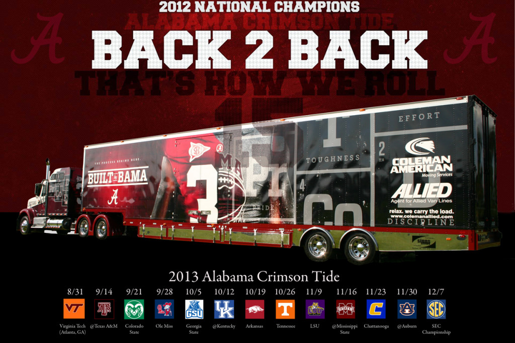 Can the Tide Threepeat?
