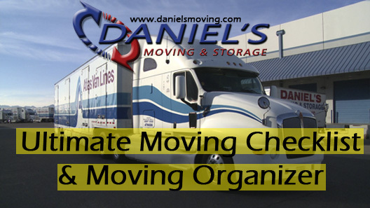 Daniel's Moving and Storage's Ultimate Checklist and Move Organizer