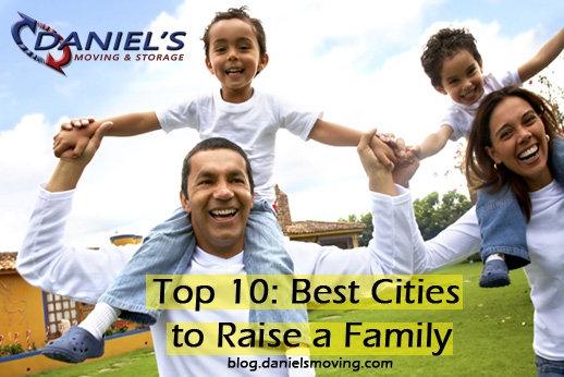 The Top 10: Best Cities for Families