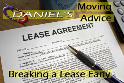 Moving Advice: Breaking a Lease Early