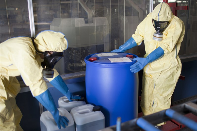Dispose of Industrial Chemicals Safely