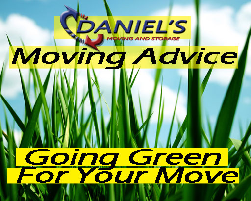 Moving Advice: Going Green For Your Move