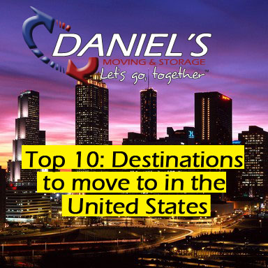 Top 10: Destinations To Move To In The U.S
