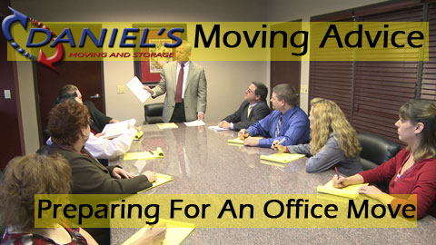 Moving Advice: Preparing For An Office Move