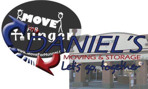 Daniel's Moving and Storage Moves for Hunger