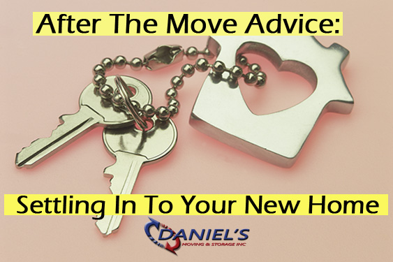 After The Move: 5 Tips For Settling In To Your New Home