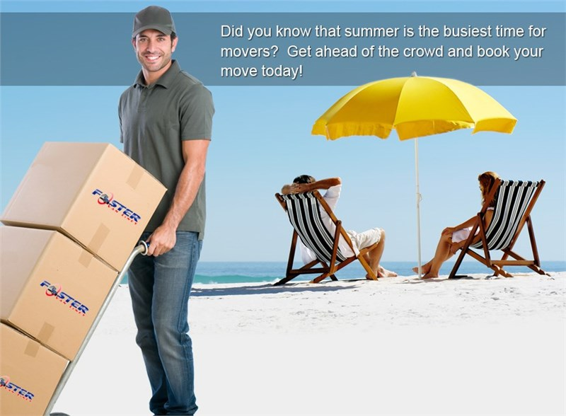 Moving This Summer? Book Your Move Now!!