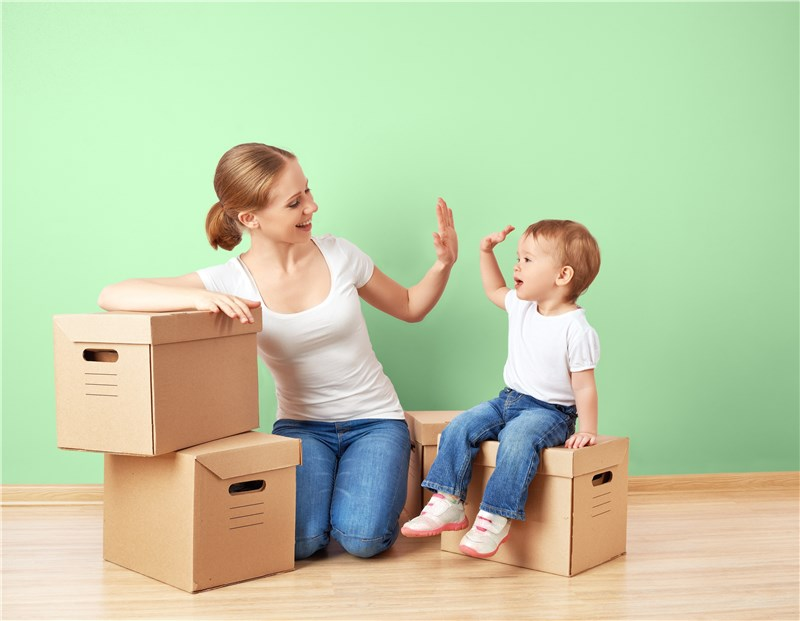 Moving as a single parent