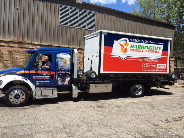 On-Site Storage NJ | New Jersey Portable Storage | Harrington Movers