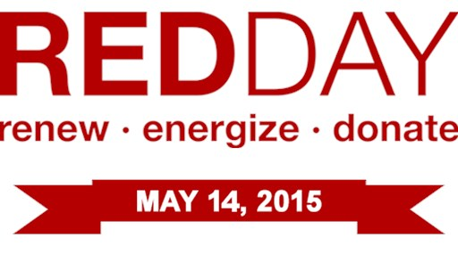 Harrington Helps Support the Local Community on RED Day!