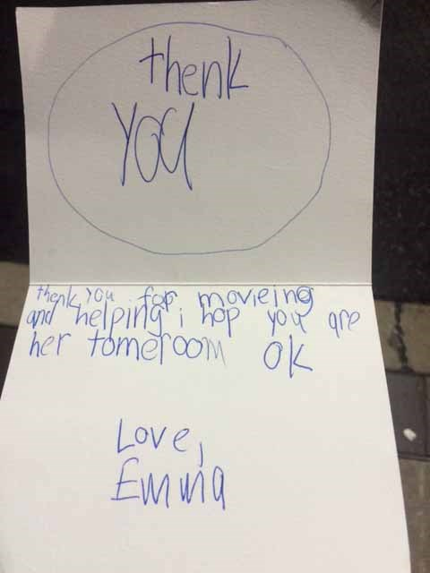 A Letter from Our Cutest Customer