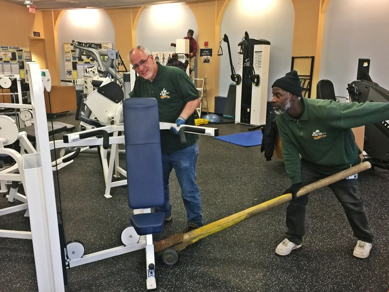 Our NJ Gym Equipment Movers Moved Pfizer's Fitness Facility