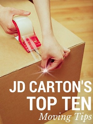 My Top Ten Moving Tips