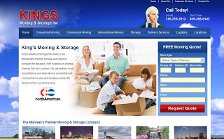 Kings Moving & Storage launches new website!