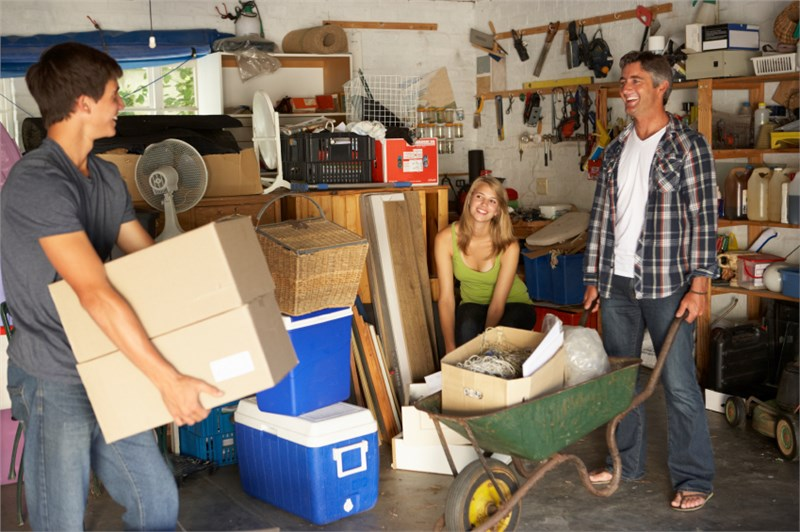 Tips For Packing Your Garage For Your Big Move