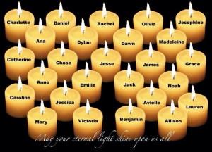 In Loving Memory of Sandy Hook Elementary Victims