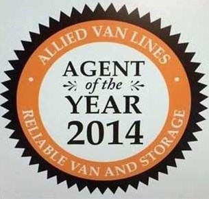 Reliable Van and Storage Earns 2014 Agent of the Year Award