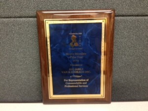 Reliable is awarded NJ Mover of the Year!