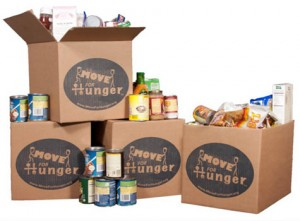Help the Hungry on Moving Day