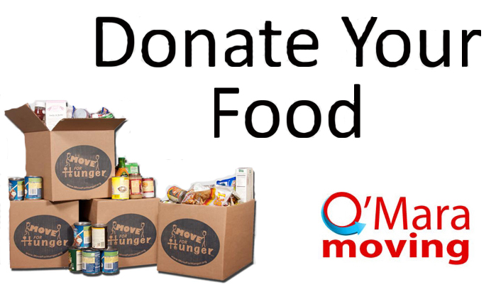 O'Mara Moving Gets Involved with 'Move For Hunger'