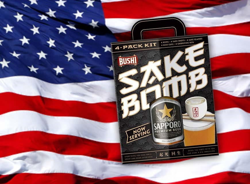"Our customers are ""THE BOMB""! Book a move and get a sake bomb kit"