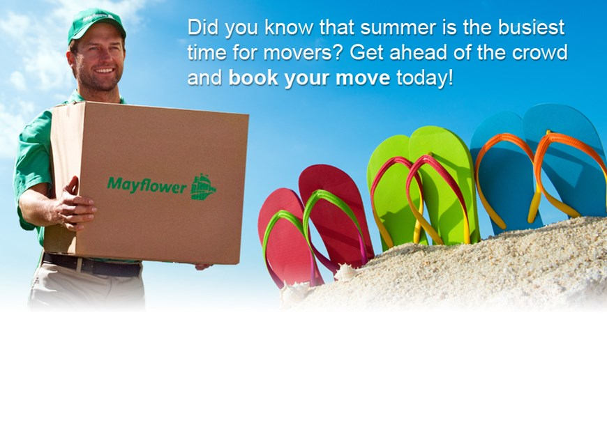 Book Your Summer Move Now!
