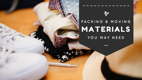 Packing and Moving: The Materials that You Will Need